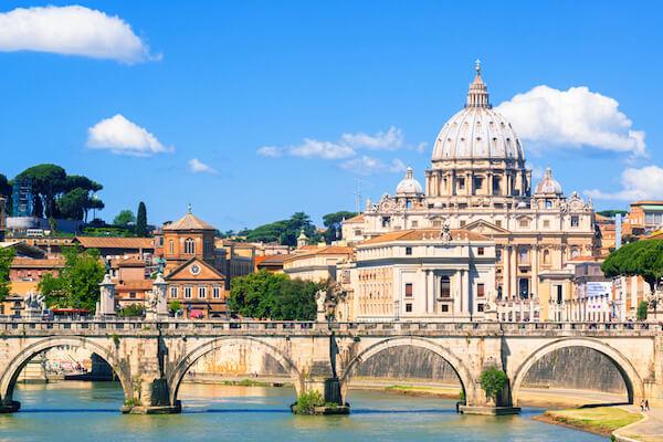 San Pietro (St Peter's) Basilica in Vatican City