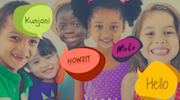 South Africa kids and languages