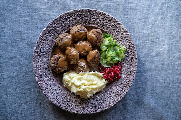 Food in Sweden: Swedish Meatballs - Credits: Lieselotte van der Meijs/imagebank.sweden.se