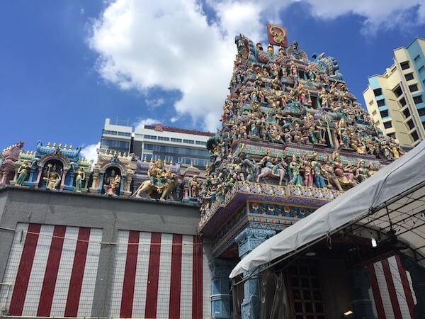 Little India Singapore temple