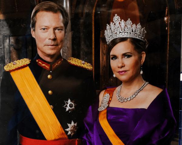 Luxembourg Duke and Duchess - image from Alexandros Michaelidis/shutterstock.com