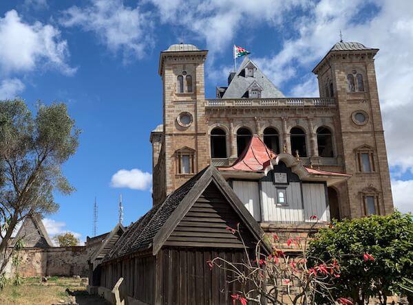 Antananarivo Queens Palace Rova - image by Kids World Travel Guide