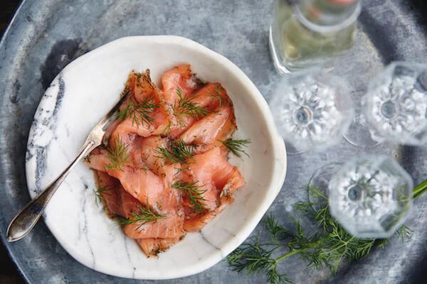 Swedish gravlax: cured salmon - Credits: Magnus Carlsson/imagebank.sweden.se