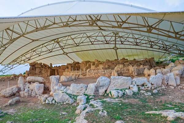 Malta megalithic temples
