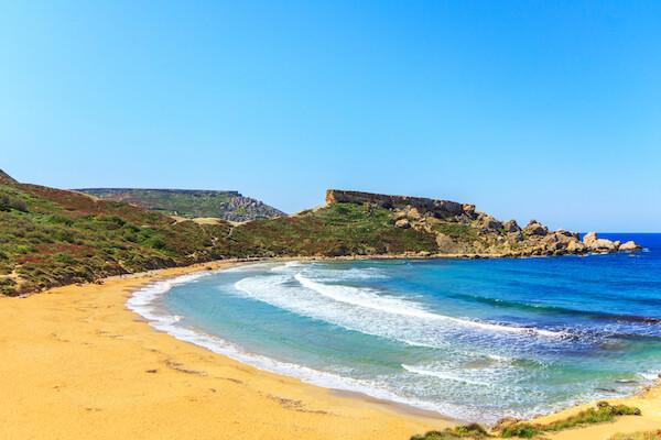 Malta's Golden Bay