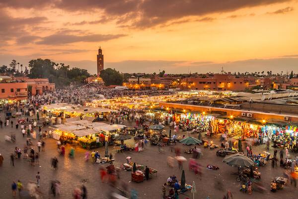 Jamaa el Fnaa - Market in Marrakech