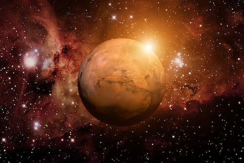 Mars the Red Planet -image by NASA/Shutterstock