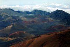 Maui volcano by Chris Lacroix at sxc.hu