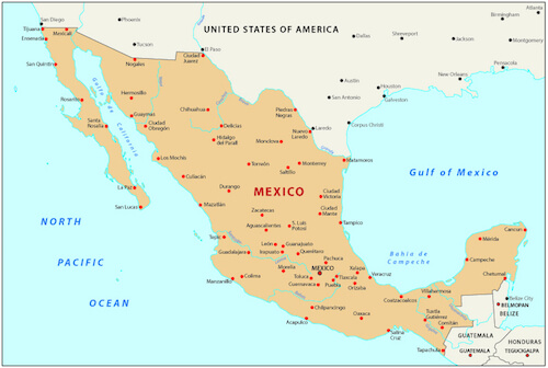 My Country Mexico Kids write about their country – Map of Mexico for Kids