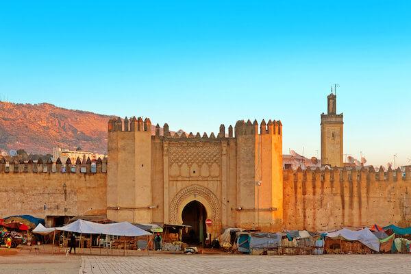Medina of Fez in Morocco