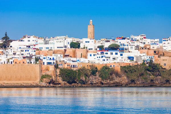 Rabat, the capital city of Morocco
