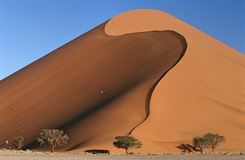 Mighty Namibia desert dunes - image by Sirtravelalot/shutterstock.com