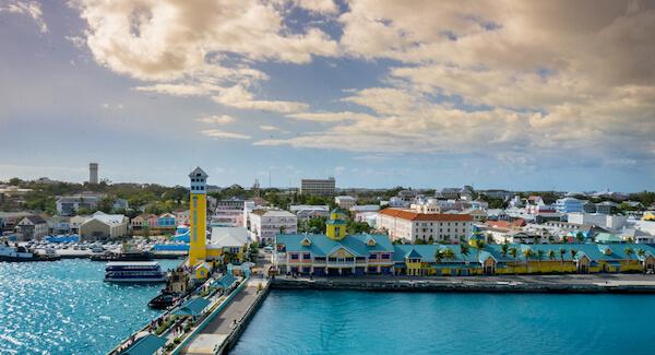 Bahamas Nassau harbour