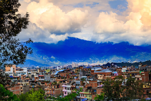 Kathmandu the capital city of Nepal