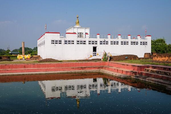 Lumina: Maya Devi temple
