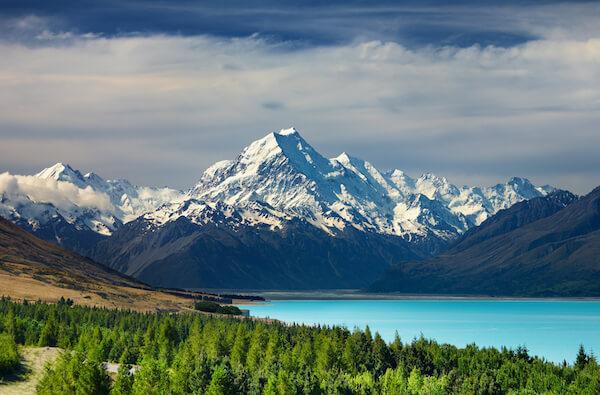 Aoraki/Mount Cook is the highest mountain of New Zealand