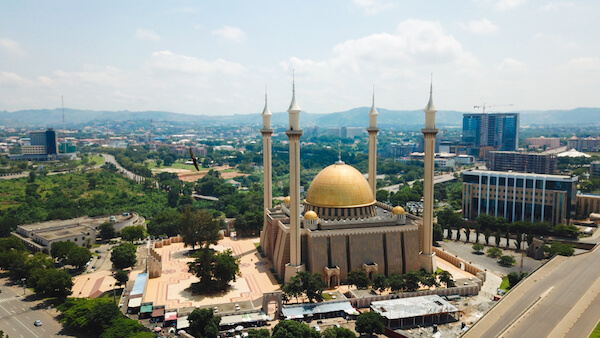 Nigeria's National Mosque in Abuja