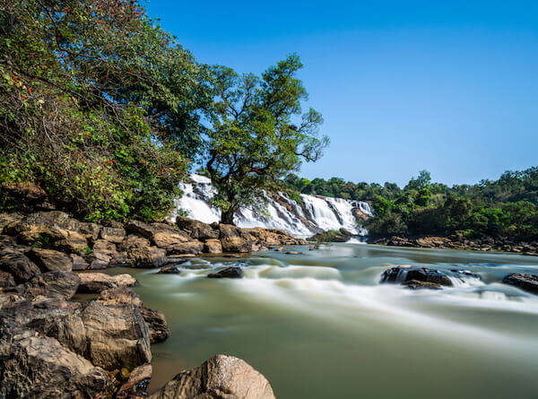 Gurara Falls in Nigeria