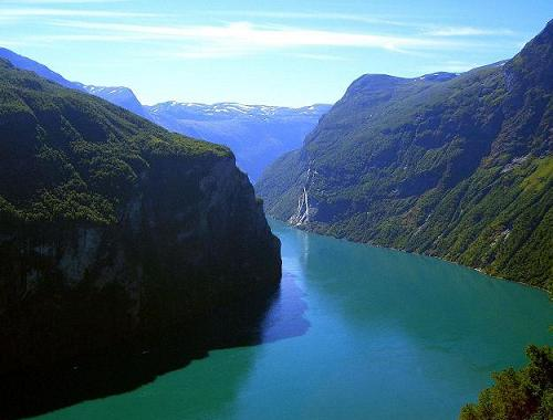 Norway Geiranger Fjord by Arancia/SXC.hu
