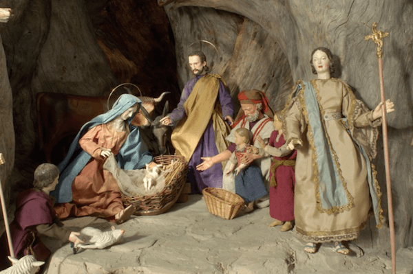 Krippe (Nativity scene) at the Oberammergau Museum