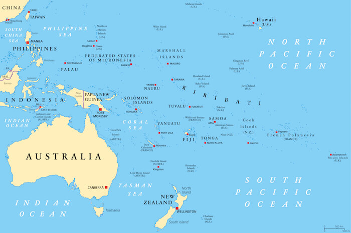 Map Of Australia Facts.Oceania Facts For Kids Geography Continents Facts For Kids