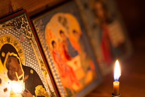 Orthodox Christmas decoration