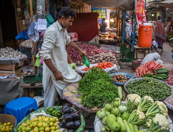 Market Vendor - image by Saquib Rizvi
