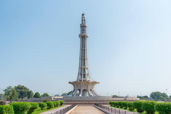 Pakistan Minar E Monument - image by Burhan Ay Photography/shutterstock.com