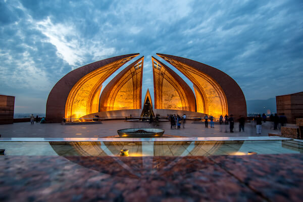 Pakistan Monument in Islamabad - image by Saqib Rizvi