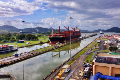 Panama Canal - image by Erwin Widmer/shutterstock.com