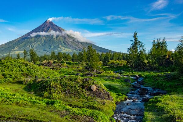 Philippines Volcano Mayon
