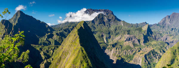 Piton des Neiges in Reunion island