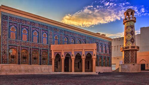 Katara Mosque in Qata