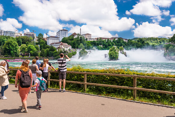 The Rhein Falls Switzerland - image by KineK00/shutterstock.com