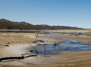 Dry dam in South Africa © John Kerrin Photography