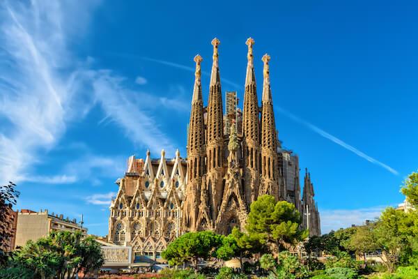Sagrada Familia in Barcelona 2016 - image by Valery Egorov/shutterstock.com