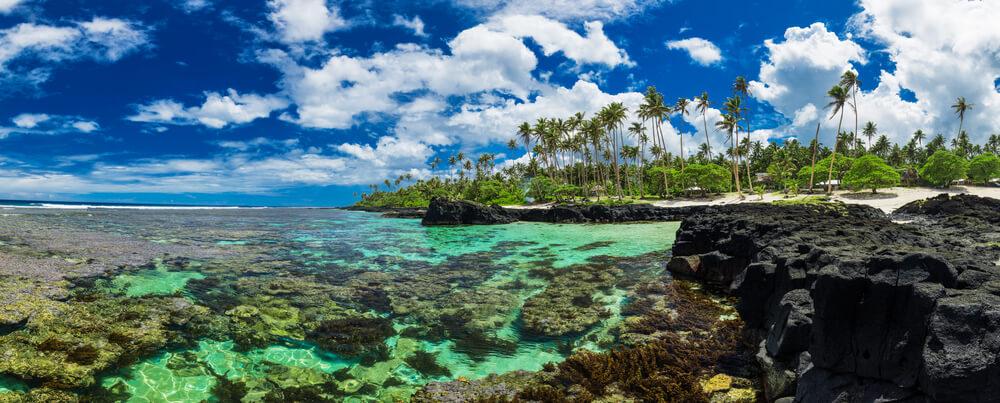 Coral reef on Upolu/Samoa