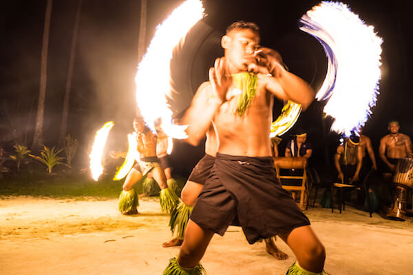 Samoan fire dancer - image by Corners74