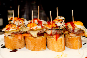 Pintxos San Sebastian - photo from shutterstock