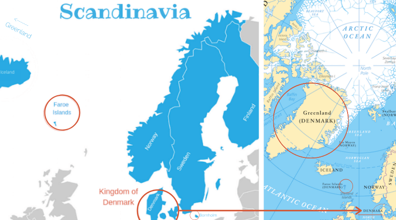 Denmark is a country in Scandinavia