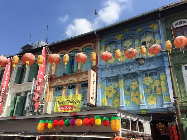 Singapore Attractions: Chinatown's colourful shophouses