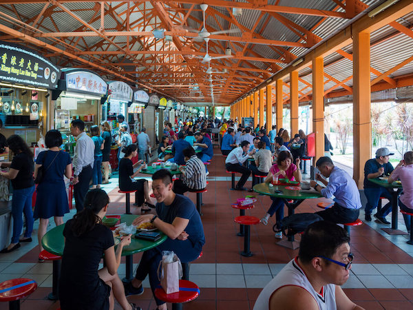 Hawker Centre in Singapore - image by Hit1912/shutterstock.com