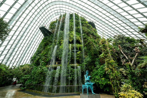 Singapore Cloudforest Gardens By The Bay - image by Gordenren/shutterstock.com