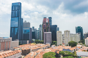 Guoco Tower in Tanjong Pagar is Singapore's highest building - image by ksy9/shutterstock