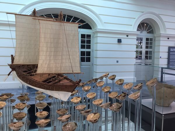 Exhibit in Singapore's Asian Civilisations Museum