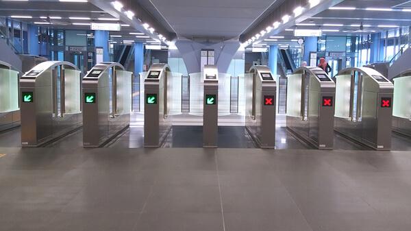 Singapore Subway entry