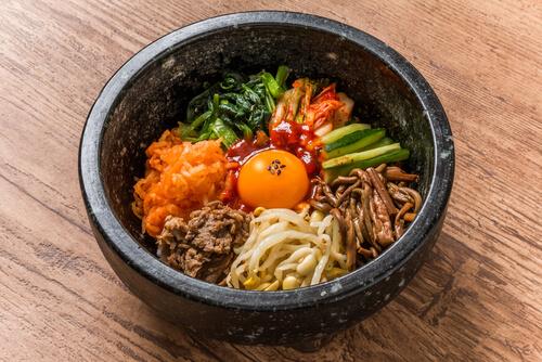 Korean food Bibimbap - image by Shutterstock