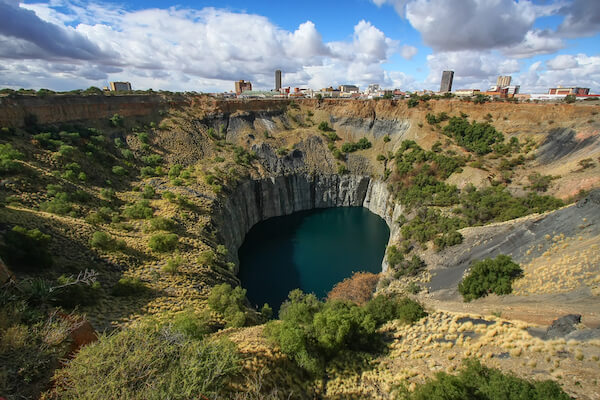 The Big Hole in Kimberley South Africa