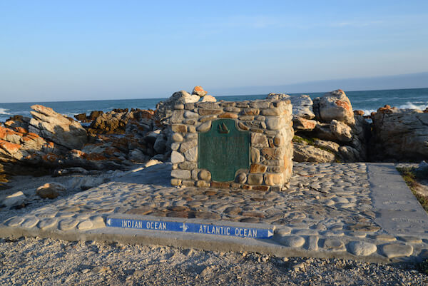 Cape Agulhas - southernmost point of the African continent