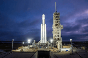 FalconHeavy Rocket by SpaceX